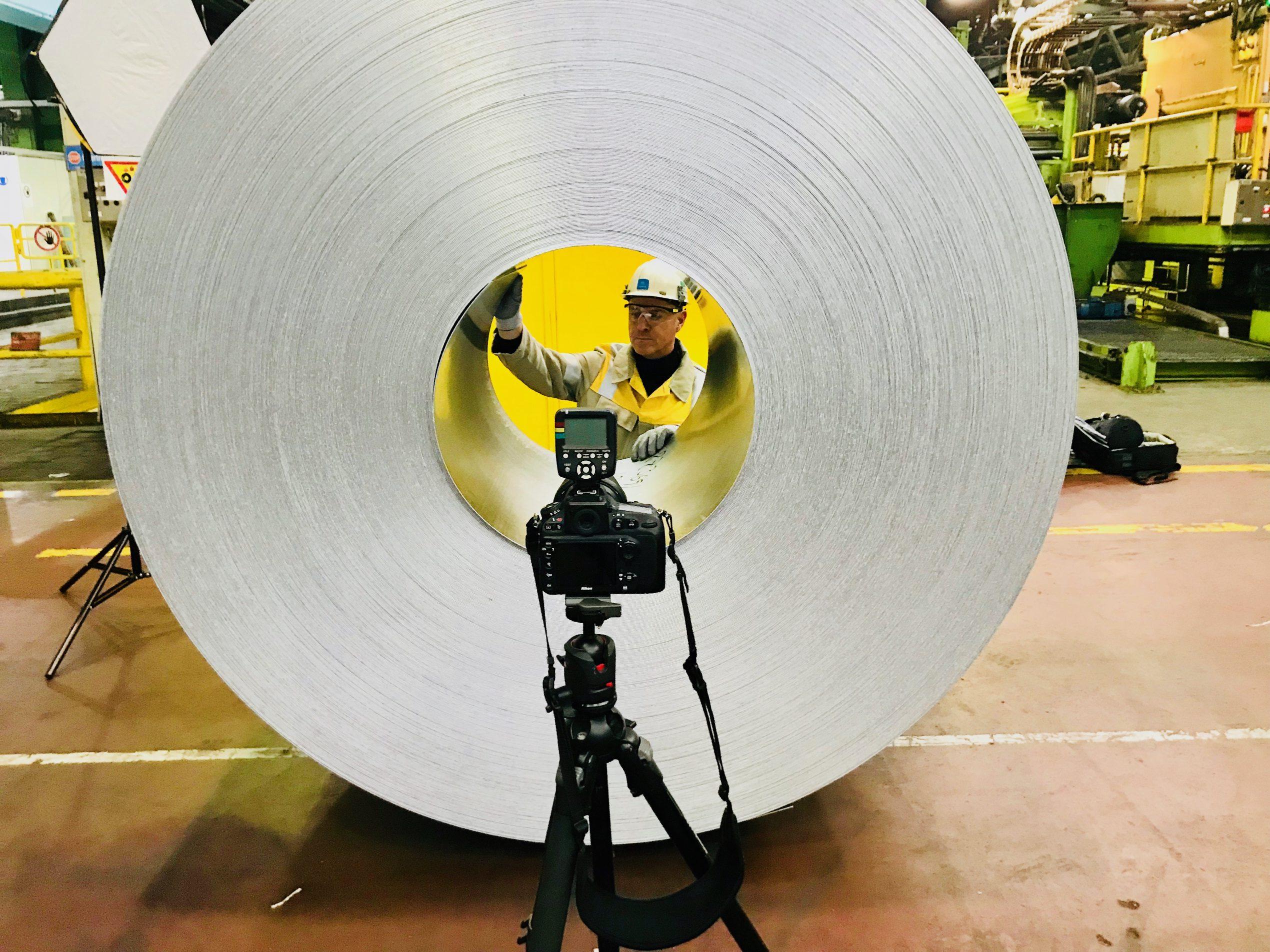 thyssenkrupp MillServices & Systems; mehrtägige Fotoproduktion